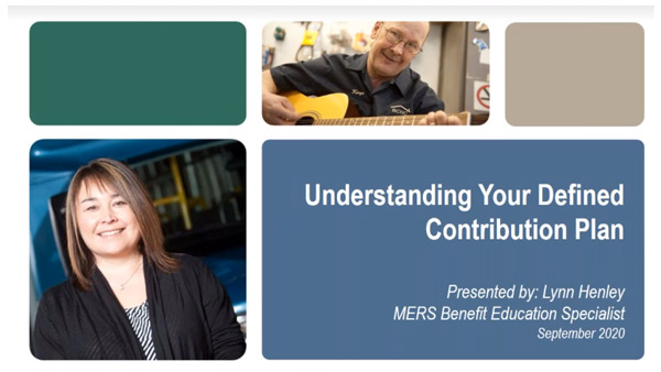 MERS defined contribution overview