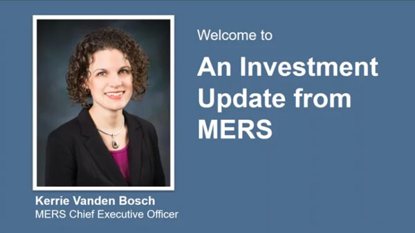 An investment update from MERS